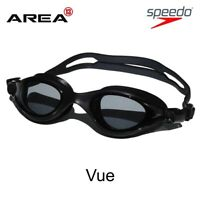 Speedo V Class VUE Goggles BLACK, Racing Swimming Goggles, Triathlon Goggles