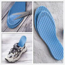 Pair Orthotic Soft Shoes Insoles Foot Support Insert Latex Soles Pad Men Women