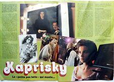 VALERIE KAPRISKY => Coupure de presse 1984 !!! // FRENCH CLIPPING