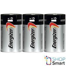 3 ENERGIZER MAX D ALKALINE BATTERIES LR20 1.5V MONO R20 MN1300 AM1 E95 NEW