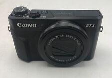 Bundle - PowerShot G7X Mark II Digital Camera + Batteries + Extreme Pro 128 GB