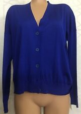 Stella McCartney Sweater Blue Wool And Silk Size 38