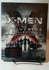 X-Men and The Wolverine Collection (Blu-ray Disc, 2013, 6-Disc Set)NEW-Free S&H