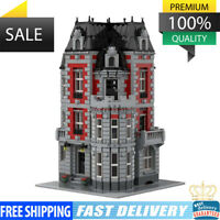 Corner Mansion Modular Building Blocks Bricks MOC Sets Toys New MOC-35065