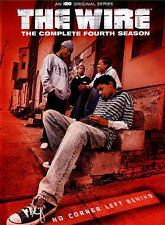The Wire - The Complete Fourth 4th Season (DVD, 2015, 4-Disc Set) NEW