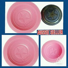 CAPTAIN AMERICA Silicone Mould Mold Fondant  Chocolate Cup Cake Sugarcraft Resin