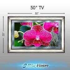 "MIRROR TV 50"" SAMSUNG SMART 4KTV + FRAME, SIZE 52"" X 33"" HUGE SALE!"