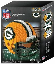 Green Bay Packers BRXLZ Team Helmet 3-D Puzzle Construction Toy New  1327 Pieces