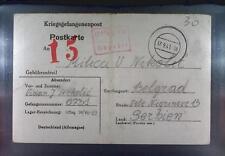 Camp Oflag 78 Hohenfels 1941 POW Prisoner of War Kriegsgefangenenpost K1