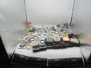 Huge Lot of Vintage Camera Lens Filter 55mm-58mm Vivitar Tiffen Close-Up Color
