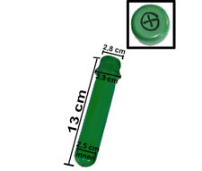 Optimal for Geocaching 10 x 13 cm Tube with FTF Cover - Green Preform Container