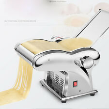 110V/220V Stainless Steel Pasta Maker Roller Machine for Spaghetti with 2 Knife