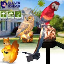 Solar Power Led Animals Lawn Light Waterproof Outdoor Garden Path Decor Lamp Usa