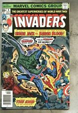 Invaders #9-1976 fn- Sub-Mariner Human Torch