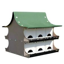 12 Family Purple Martin Plastic Bird House Pole Mount Weather Starling Resistant