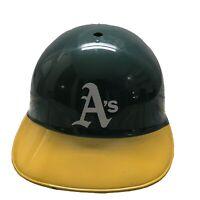 Vintage Oakland A's Athletics MLB Green and Yellow  Souvenir Batting helmet