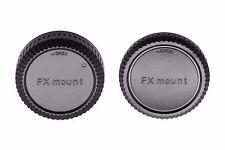Camera Body and Rear Lens Caps for Fujifilm X-T20 X-A10 X-A3X-T2 X-Pro2 X-E2S