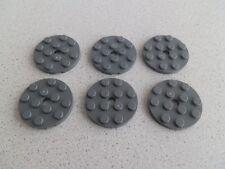 Lego 60474# 6x Platte 4x4 grau neu dunkelgrau 75098 8129