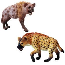 Africa Hyena Hyaena Wild Dog Animal Figure Model Toy Hyaenidae Decor Kids Gift