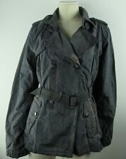 KHUJO Mantel ASETA Damen Trenchcoat - Gr.M Cha-Wa  Designer Marken Jacke Khujo