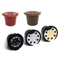 1x Refillable Reusable Coffee Capsules Pods For Nespresso Machines Spoon TB