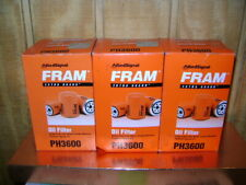 Lot of 3 Fram Ph3600 Engine Oil Filters (Fits: Lynx)