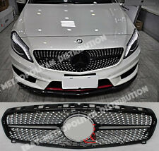 Mercedes A w176,2012-15,BLACK diamond GRILLE,AMG A45 NIGHT EDITION,A160 A250 200