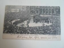 G84 Rare Old PC Presentation Ceremony Statues City Square Leeds Parkinson 1903