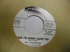 The Association Babe I'm Gonna Leave/Baby Can't You 45 RPM Jubliee VG+ promo