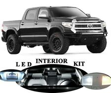 16x White Interior LED Lights Package Kit Fits 2013-2015 Toyota Tundra #A91