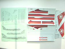 "BOEING B747 ""AIR CANADA"" AHS DECALS 1/144"