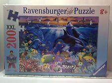 Ravensburger 200 XXL pcs jigsaw puzzle: Life Under Water. Age 8+ New, Sealed Box