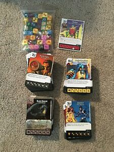 Dice Masters Wizkids Set Lot Collection 291 Unique Cards Robin Promo 42 Dice