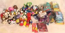 McDonalds Fast Food Toys Bundle + Burger King Snoopy Hamburgler Disney Etc Retro