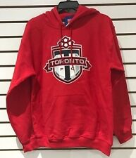 Toronto FC MLS Soccer Red Hoodie Sweatshirt Hoody Hooded Adult X-Large Football