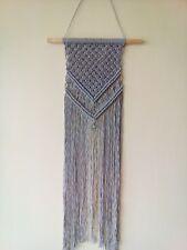 Handmade bohemian macrame wall hanging cotton cord  home decor art vintage gift