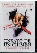 Ensayo de un crimen (Luis Buñuel) (DVD Nuevo)