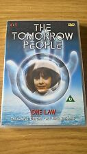 ORIGINAL R2 TV DVD - THE TOMORROW PEOPLE - ONE LAW ALL 3 EPISODES