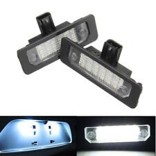 2x LED Rear Number License Plate Light Fit Ford Mustang Focus Fusion Lincoln USA