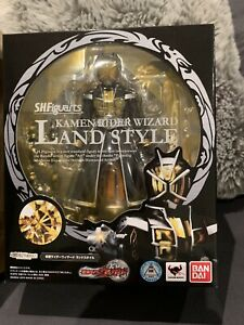 S.H.Figuarts Masked Kamen Rider WIZARD LAND STYLE Action Figure BANDAI Japan