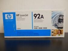 HP C4092A 92A Black Toner Cartridge LaserJet 3200 Genuine New Seal Box Lot Of 2