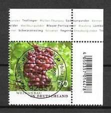 Federal Mi. no 3334 (2017) Stamped With Est/wine cultivation in Germany