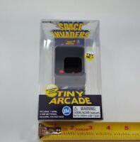 Super Impulse Tiny Arcade Space Invaders Mini Handheld Retro Game w/ Keychain