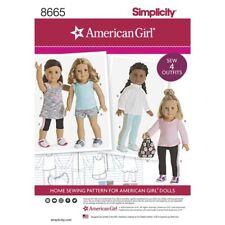 SEWING PATTERN! AMERICAN GIRL DESIGNS FOR DOLLS! TRACK JACKET~LEGGINGS~BACKPACK