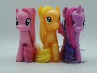 "My Little Pony Explore Equestria 3"" G4 Brushables Lot of 3 Pinkie Pie Apple Jack"