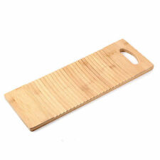 Thicken Washboard Made of Bamboo Wood Board Wash Clean Laundry Clothes Home Zen