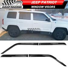 Fits 07 18 Jeep Patriot Slim Acrylic Window Visors 4pc Fits 2012 Jeep Patriot