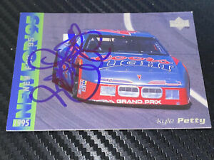 Kyle Petty autographed COORS LIGHT SILVER BULLET #42 UPPER DECK 1995 card #42