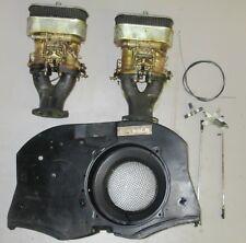 Weber Doppelvergaser Anlage 40 IDF Italien für VW Käfer Typ 1 Motor  Limbach