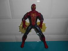 1701083 Web Battlers Smash Saw Figurine The amazing Spider man hasbro 2012 15cm